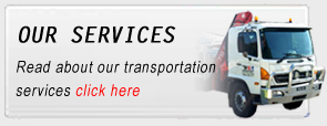 Brisbane crane truck transportation services QLD